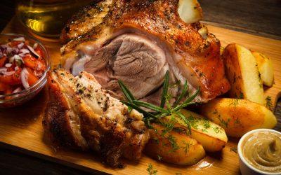 Braadinstructies voor een Engelse ham