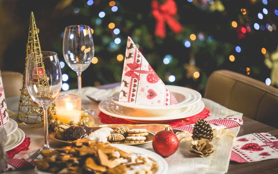 Kersttafel na nachtmis