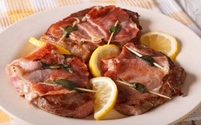 Italiaanse kalfsschnitzels met tomatensaus